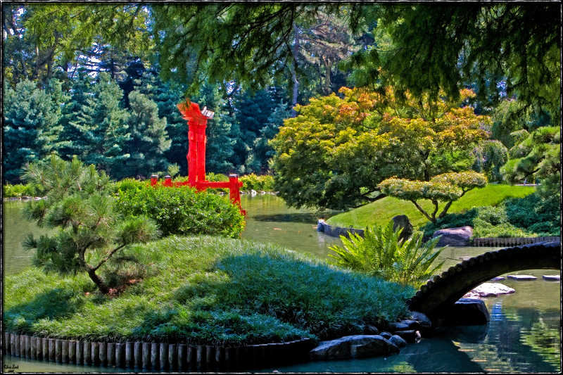 The Japanese Garden, Brooklyn Botanical Garden