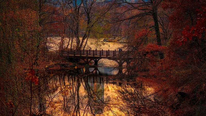 Fall At The Oak Bridge