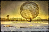 Unisphere Sunset, Flushing Meadows Park