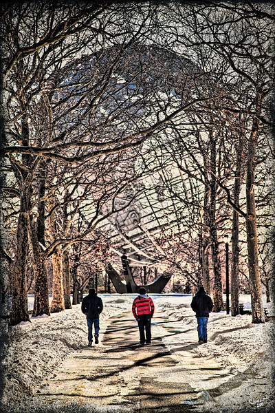 An Afternoon Stroll, Flushing Meadows Park