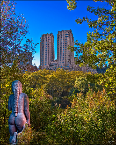 A Mexican Statue Hiding In Central Park