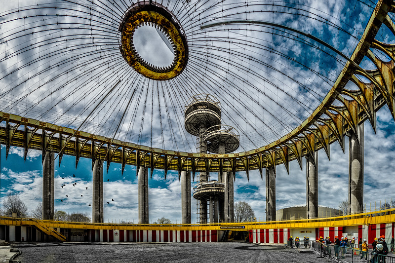 The 1964 New York State Pavilion