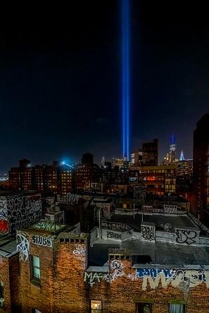 Graffiti & Tribute Lights