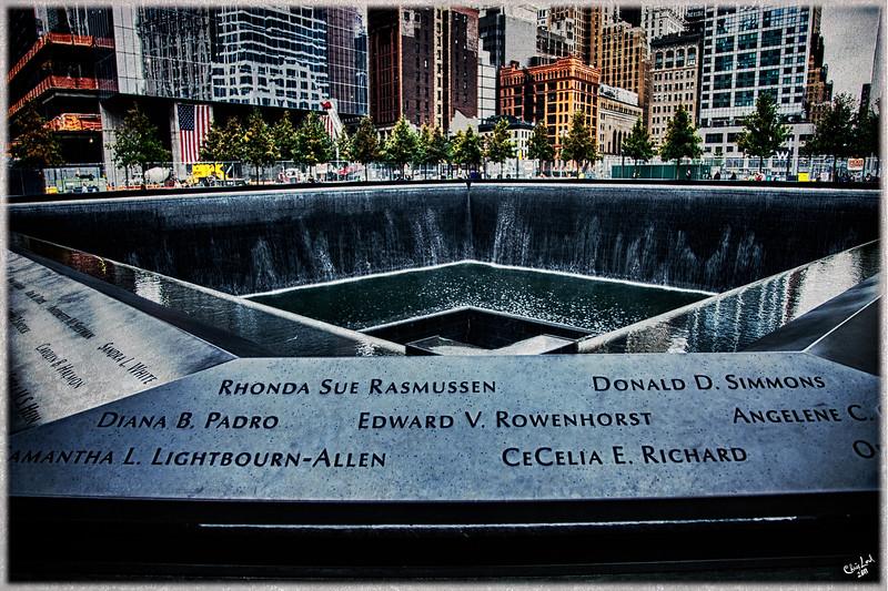 9/11 Memorial, Ground Zero, NYC, South