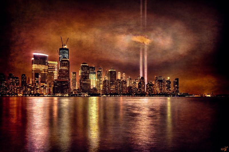 September 11th Tribute Lights 2011