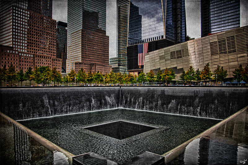 9/11 Memorial, Ground Zero, NYC, North