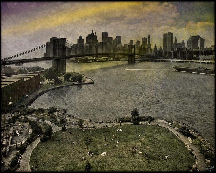 A View From The Manhattan Bridge