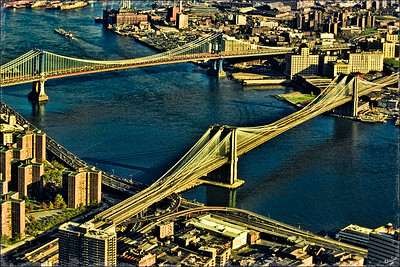 The Bridges as seen from The World Trade Center Tower