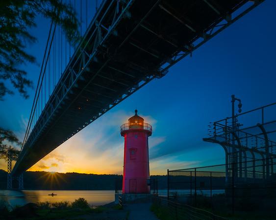Little Red Lighthouse Sunset