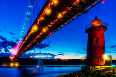Blue Hour Under the GWB