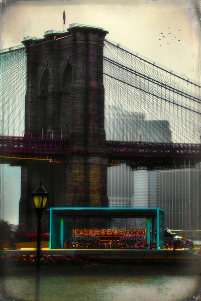 The Brooklyn Bridge and The Carousel