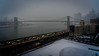 The Brooklyn Bridge In Winter