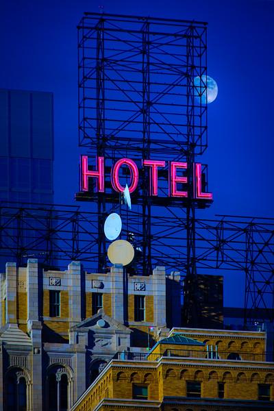 Midtown Hotel Neon Sign