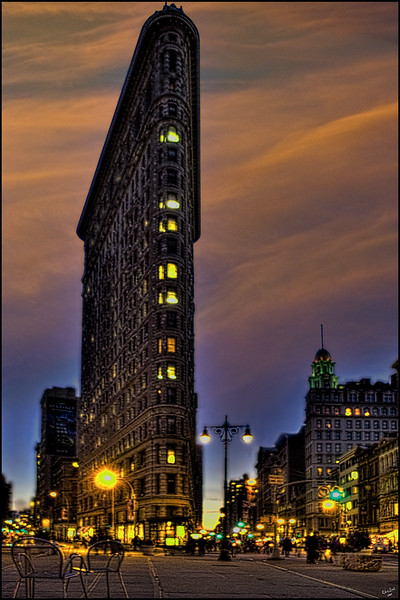 The Flatiron Building at Sunset