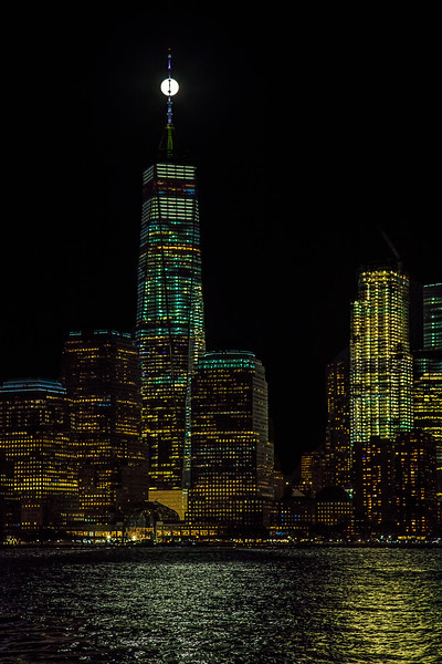 Freedom Tower Supermoon