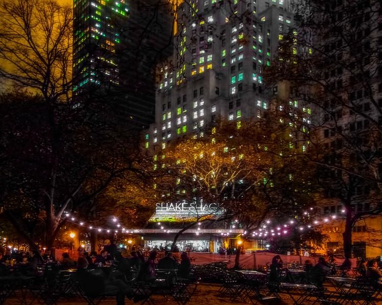 The Shake Shack, Madison Square Park