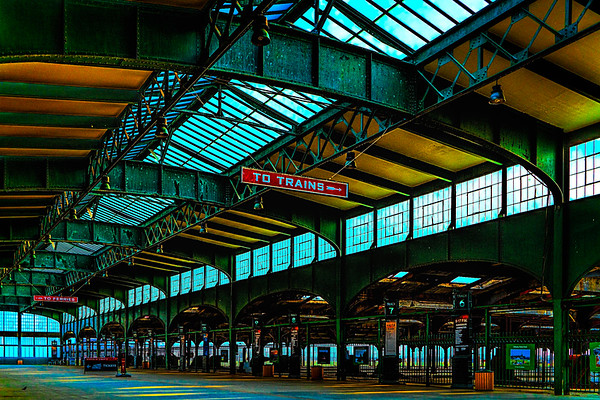 Old Train Terminal