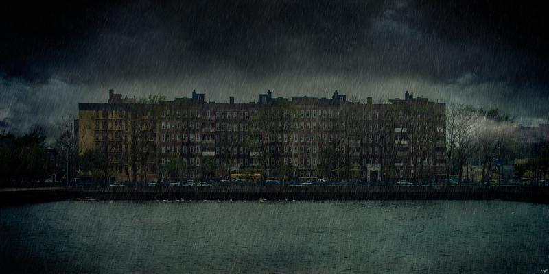 Raining in Brooklyn