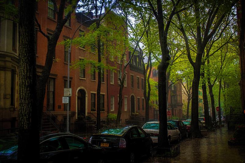 Raining In Brooklyn Heights