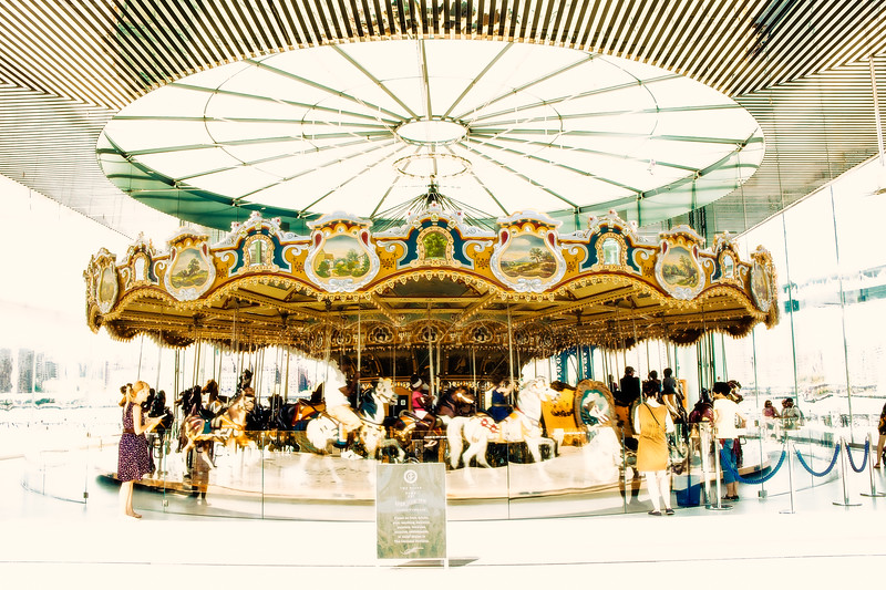 Hot Day At Jane's Carousel