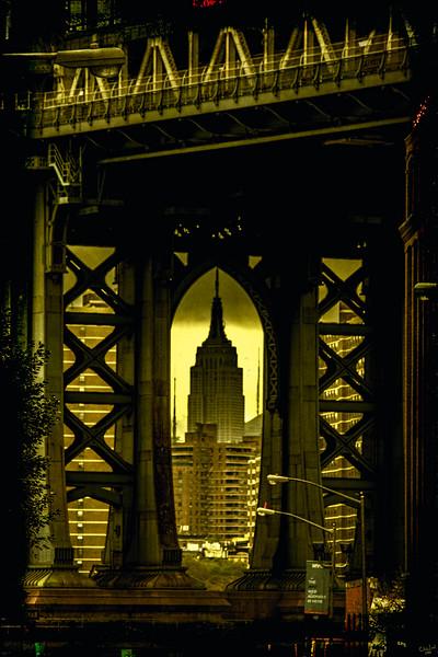 Through the Manhattan Bridge