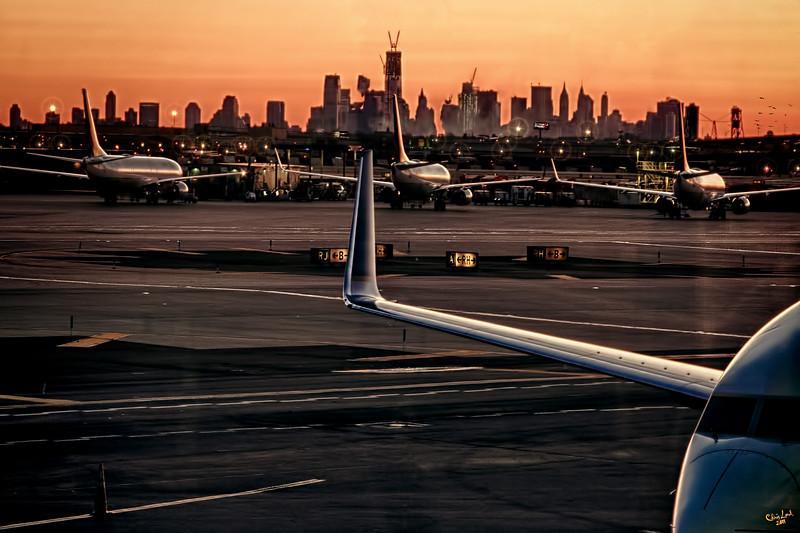 A View of Downtown Manhattan