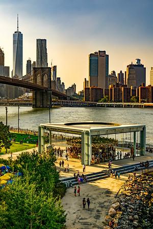 Jane's Carousel & Downtown Manhattan