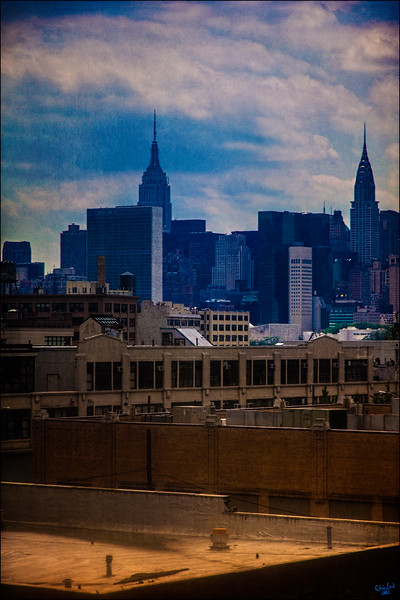 Looking Towards Manhattan