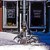 Bikes and Psychics in the Chelsea Snow