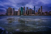 Downtown Manhattan During Inclement Weather