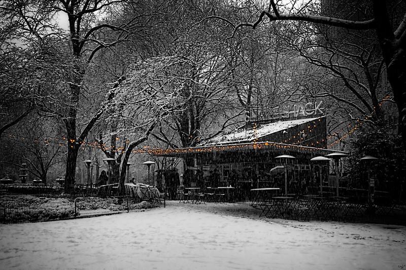 Snow Shack? Madison Square Park