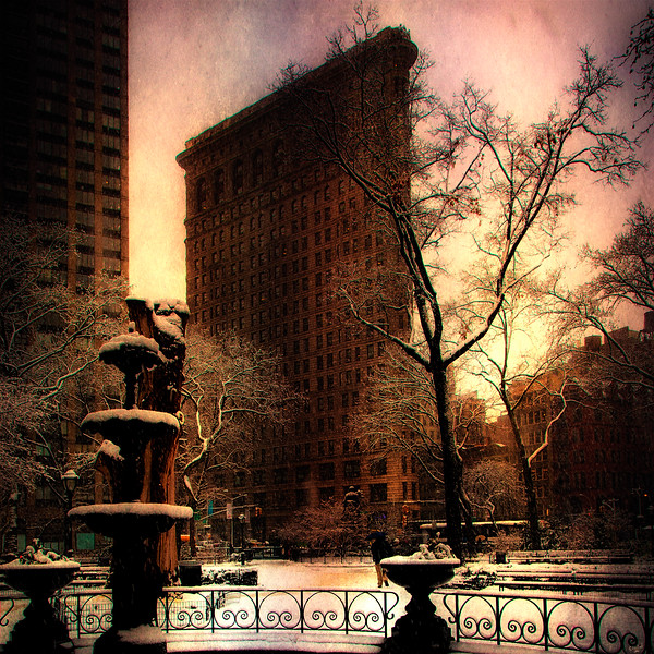 Evening At Madison Square Park