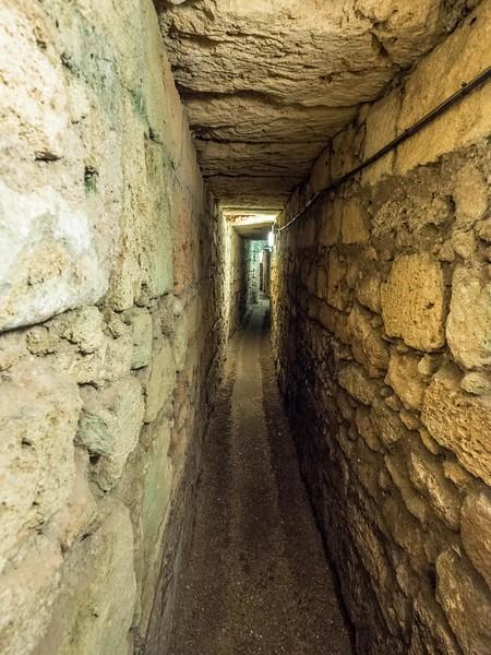 Tunnels of the Crusaders' Citadel, Akko, Israel