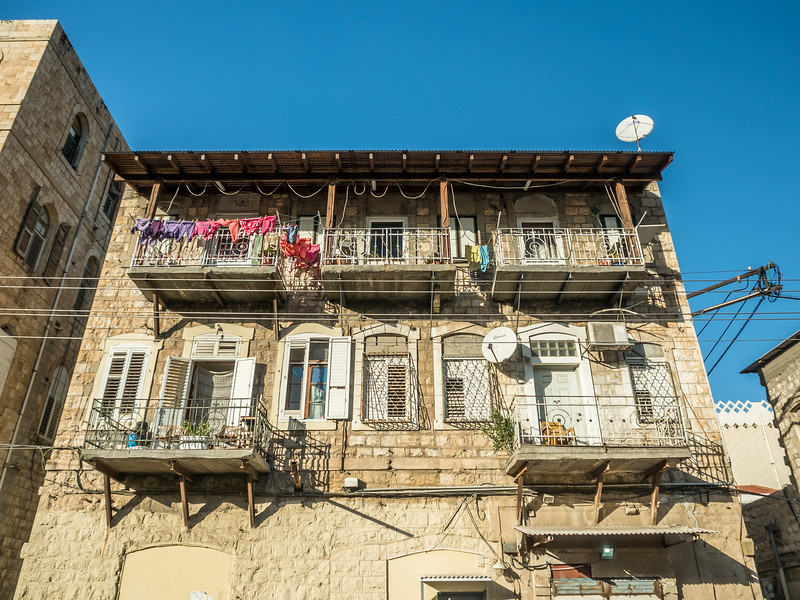 Apartment Façade, Haifa, Israel