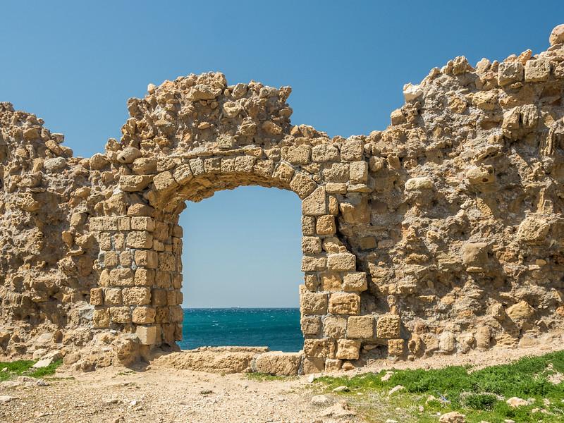 Ancient Window Ruins, Akko, Israel