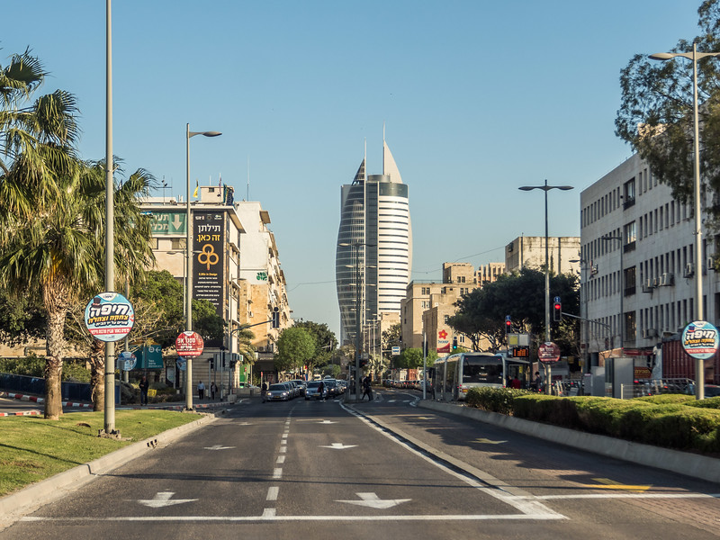 Down the Street, Haifa, Israel