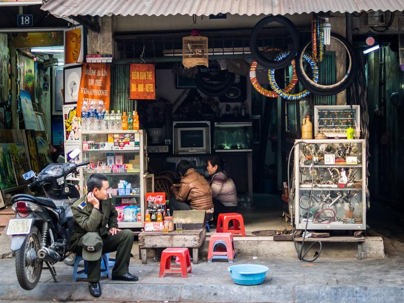 Pit Stop, Hanoi