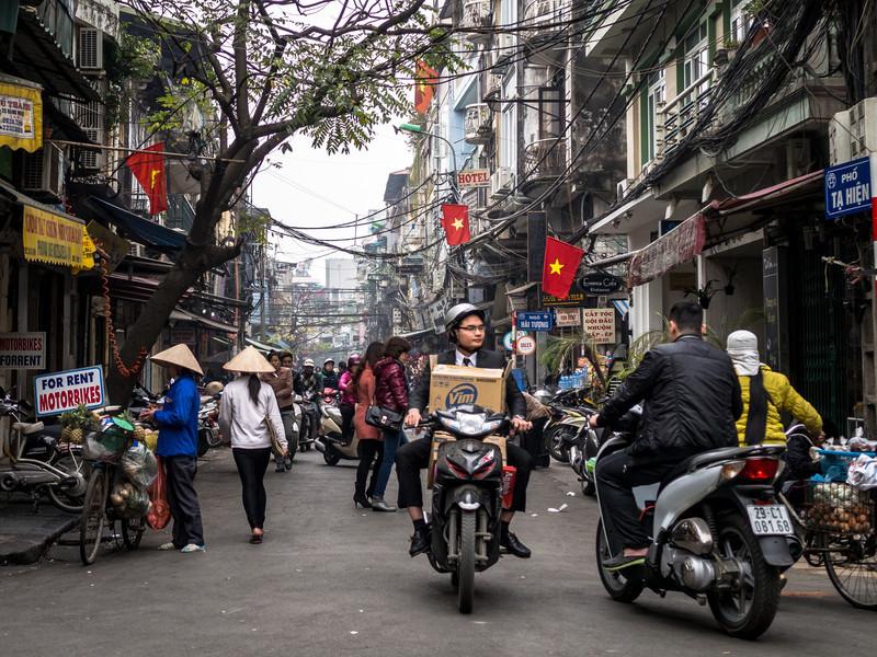 On the Street, Hanoi, Vietnam