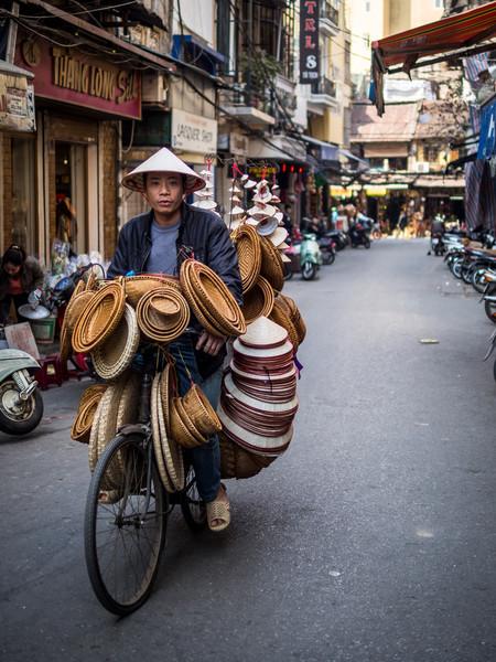 Basket Vendor, Hanoi