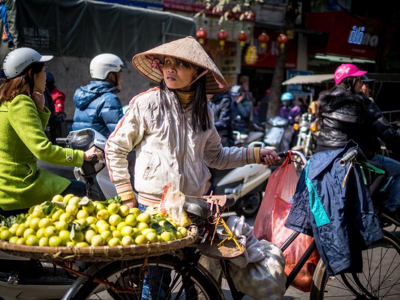 Looking Back, Hanoi, Vietnam