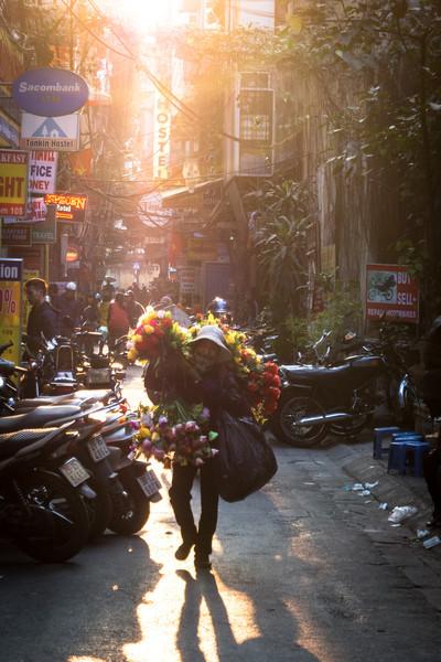 Flower Seller, Hanoi