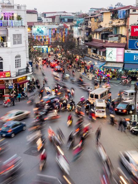 Traffic #3, Hanoi, Vietnam