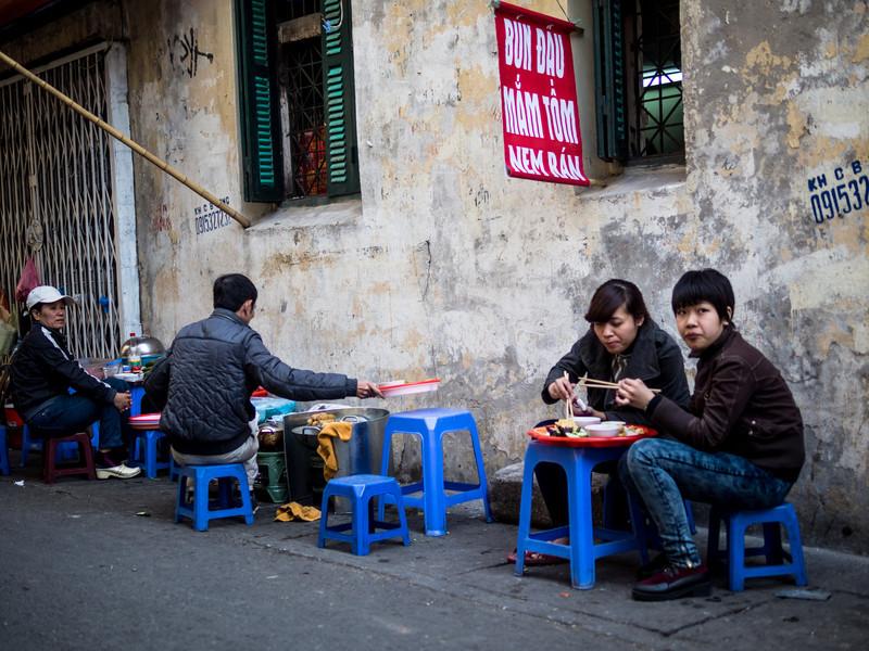 Lunchtime, Hanoi