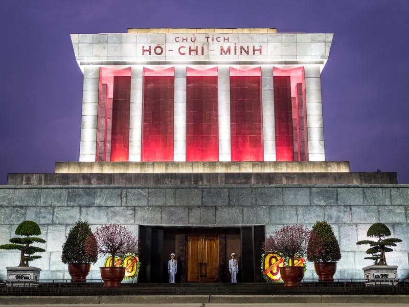 Uncle Ho's Temple, Hanoi, Vietnam