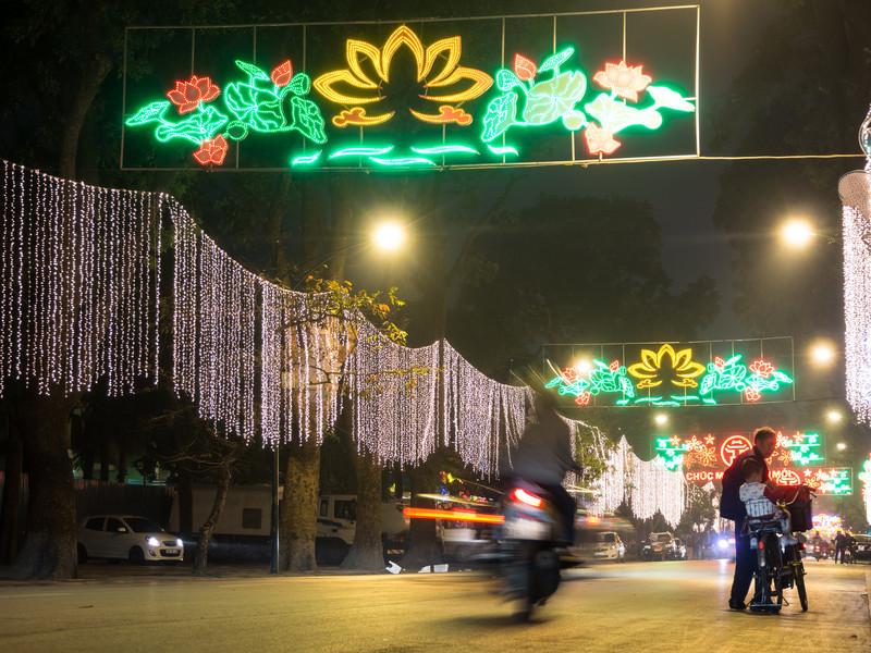 Street Lights, Hanoi