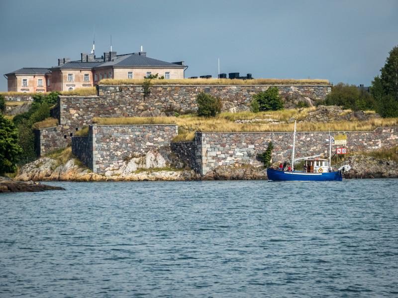 Blue Boat, Suomenlinna