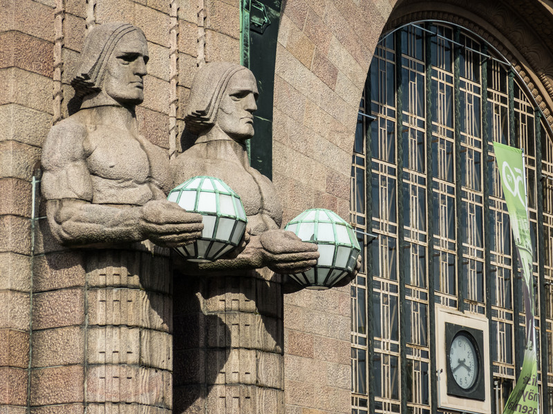Train Station Sentinels, Helsinki