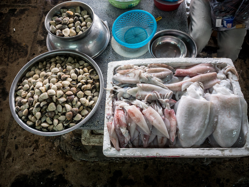 Did Someone Say Squid and Clams, Hoi An