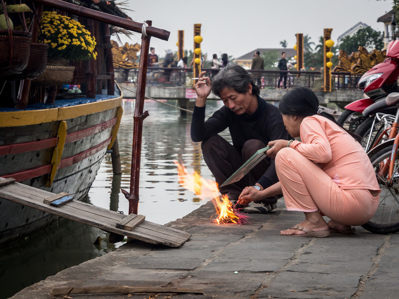 A Little Fire by the River, Hoi An