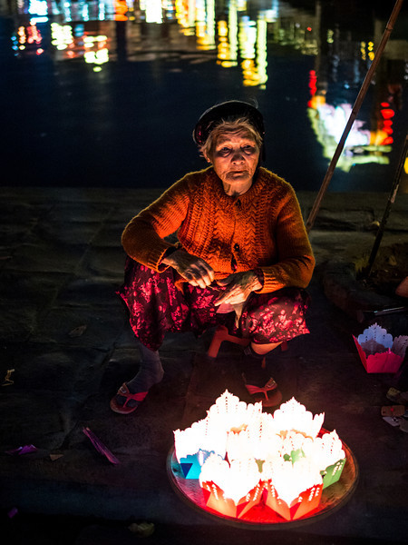 The Old Lantern Lady, Hoi An